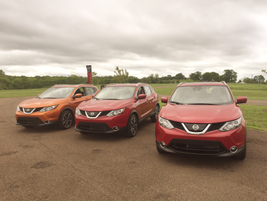 The 2017 Rogue Sport arrives as the U.S. version of the Qashqai, which Nissan offers in Europe.