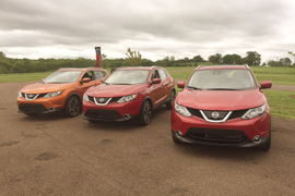 Driving the 2017 Nissan Rogue Sport