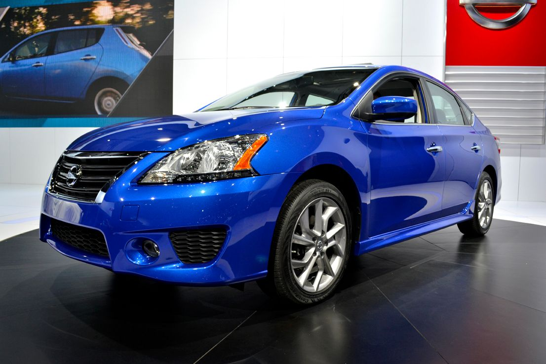 Nissan showed its all-new 2013-MY Sentra at the show.