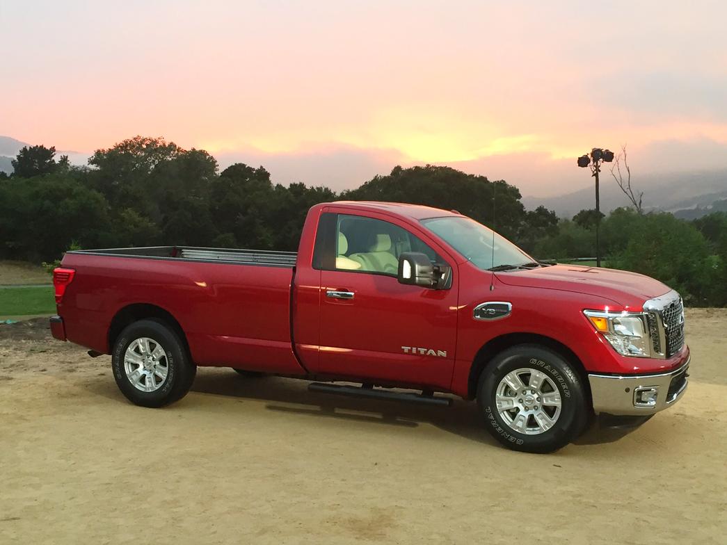 The 2017 half-ton Titan Single Cab will join the Titan lineup in the fall.