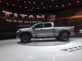 Nissan Titan Warrior concept pickup
