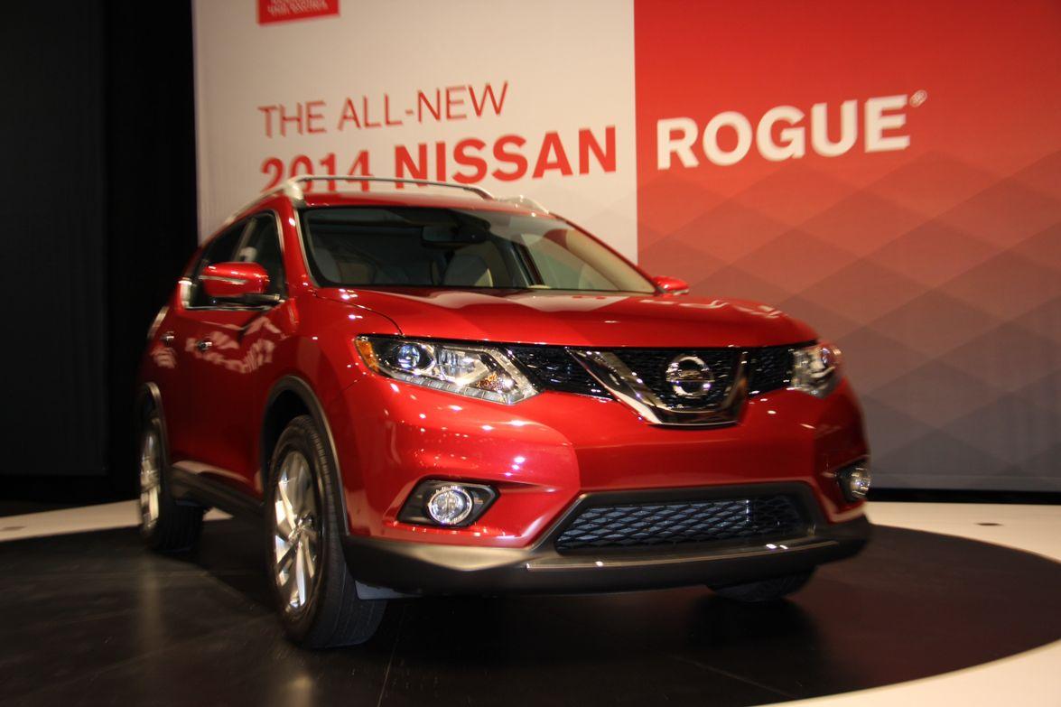 2014 Nissan Rogue Media Launch