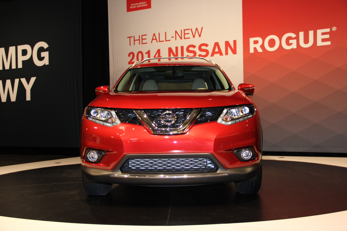 2014 Nissan Rogue Media Launch