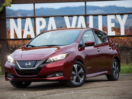 The 2018 model-year leaf will start at $29,990. Its base trim level along with the higher trims...