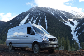 Sprinter Van's 4x4 Off-Road Test