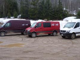On sale now, the Sprinter 4x4 is available in the Cargo Van, Passenger Van and Crew Van...