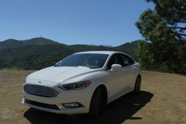 2017 Ford Fusion Ride & Drive