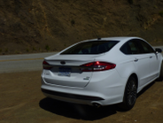 The 2017 Fusion is offered in four 4-cylinder powertrains: 1.5L EcoBoost, 2.0L EcoBoost, 2.0L...