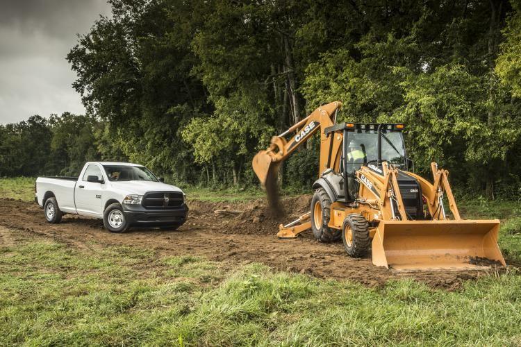 2013 Ram 1500 with Case equipment. Source: Ram Trucks