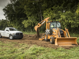 2013 Ram 1500 with Case equipment. Source: Ram Trucks