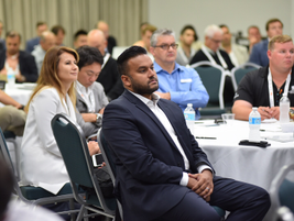 Fleet Forward participants hailed from a diverse background in fleet and technology.