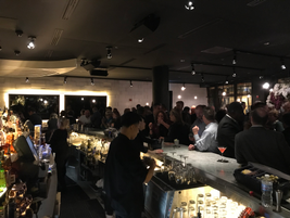 An evening reception was held at STK Chicago.