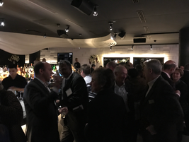 Attendees were able to network with various Wheels Inc. employees. The company's president and...