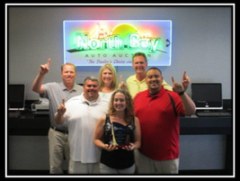 2014 CPS Top Gun Award Winner: North Bay Auto Auction Front Row: Becky Szalwinski Middle Row...