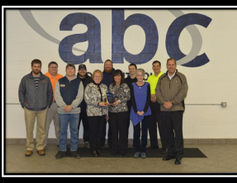 2014 Operational Excellence Award Winner: ABC Toledo Front (left to right): Jay Lashuay, Cheryl...