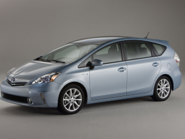 The Prius V was designed from the ground up rather than built on the existing Prius platform,...