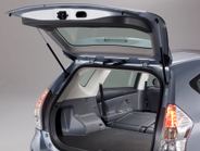 The cargo area features 34.3 cu. ft. of space.