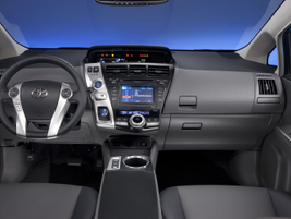 The 2012 Prius V is one of the first Toyota vehicles to feature the automaker's new Entune system.