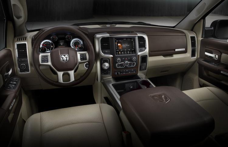 One of the interior trim options on the Ram 1500. Source: Ram Trucks