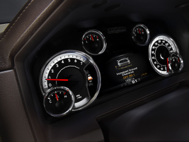 The instrument panel of the 2013 Ram 1500. Source: Ram Trucks