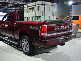 Ram 4X4 Off Road ready for action.