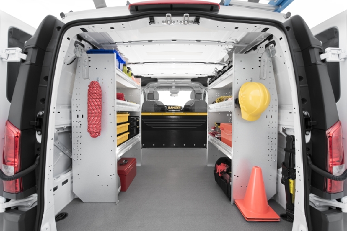 Ranger Design's van shelving systems are lightweight, available in hundreds of configurations,...