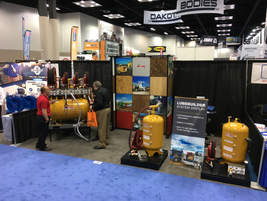 Sage Oil Vac displayed its mobile solutions for managing new and used oil on the jobsite....