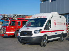 The Transit canteen will serve as a disaster response unit as part of The Salvation Army Eastern...