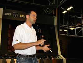 Greg Howell, chief of Ram and Dodge exterior design, ran through the upgrades and new options...