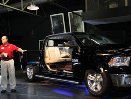 The presentation concluded with an overview from Mike Cairns, head of Ram Truck engineering, who...