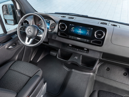 The non-U.S. model of the next-gen Sprinter will offer several additional features, including...