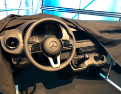 More than 1,000 possibleiterations of the van will offer four dashboards. This is the base model.