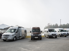 One-quarter of yearly Sprinter sales come from fleets with 250 or more vehicles, according to...