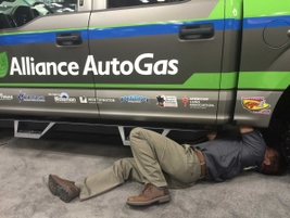 During the 2016 Work Truck Show, Alliance AutoGas completed a successful conversion of a Ford...