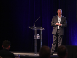 Telogis CEO Dave Cozzens gave an overview of the transformational abilities of the company's...
