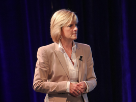 Susan Heystee, Telogis EVP for Worldwide Sales, led a panel discussion on Defining Fleets of the...