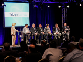 During a panel discussion led by Susan Heystee of Telogis, representatives from Ford Motor...