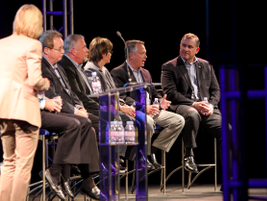 Among topics panelists touched on included the issue of being isolated versus connected, the...