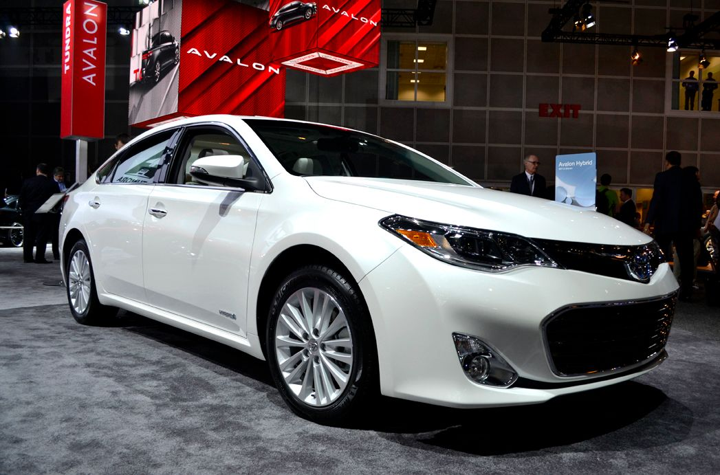 Toyota brought its all-new 2013-MY Avalon to the show. The automaker plans to offer livery...