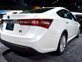 For the all-new Toyota Avalon, the automaker reduced the vehicle's weight by 110 lbs. compared...