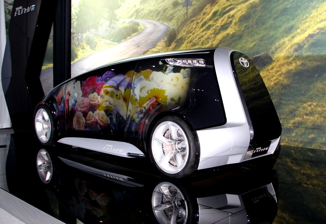 Toyota brought its Fun-Vii concept to the LA Auto Show. The automaker designed the vehicle so it...