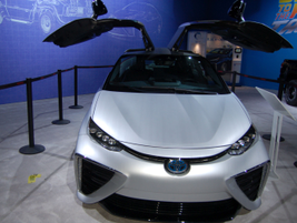 Toyota Mirai's Back to the Future edition