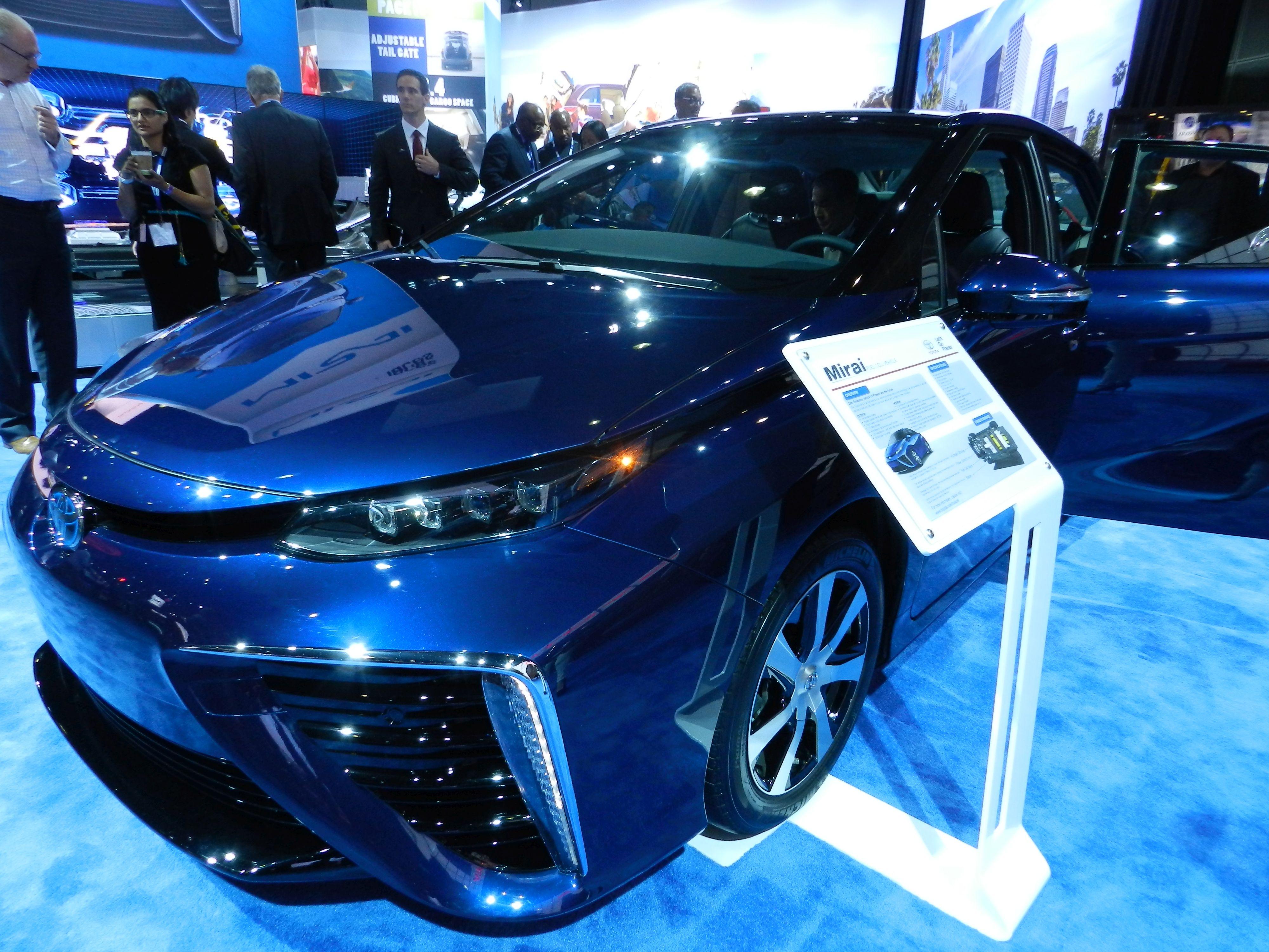 2014 L.A. Auto Show: Green Vehicles