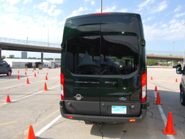 The 2015 Transit will also be available with the 3.2L I-5 Power Stroke Turbo Diesel.