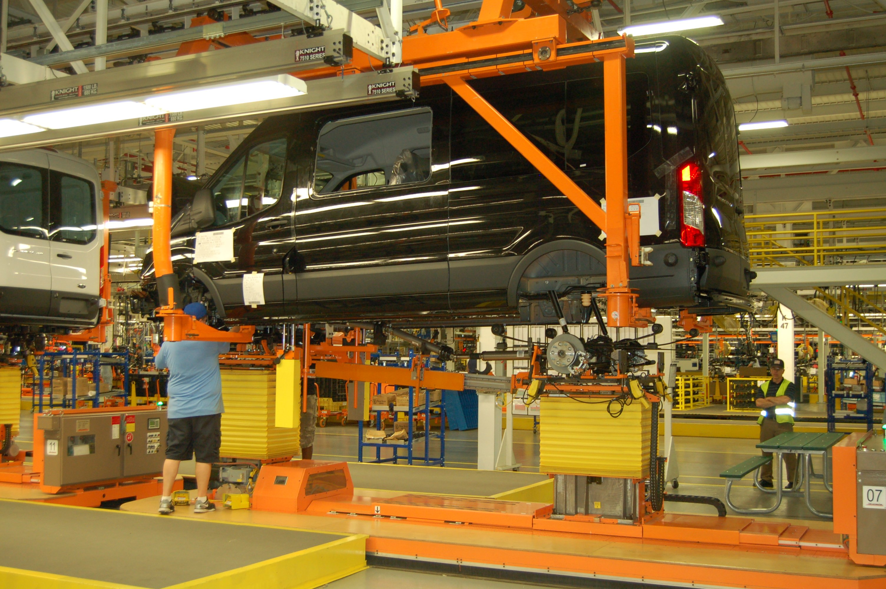 Ford Transit Kansas City Assembly Plant Tour
