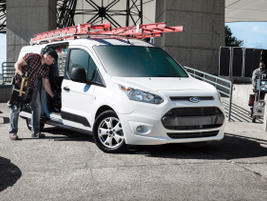 The Ford Transit Connect is available for 2018 as either a small cargo van or passenger wagon....