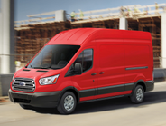 The full-size Transit van is available in three roof heights; three lengths; and as either a...