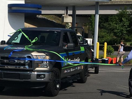 On May 23, the truck arrived back home in Asheville, N.C. (PHOTO: Alliance AutoGas)