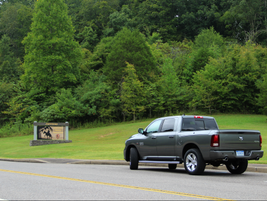 The test-drive took journalists through the scenic Natchez-Trace Parkway. Source: Lauren Fletcher