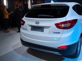 2016 Hyundai Tucson fuel cell